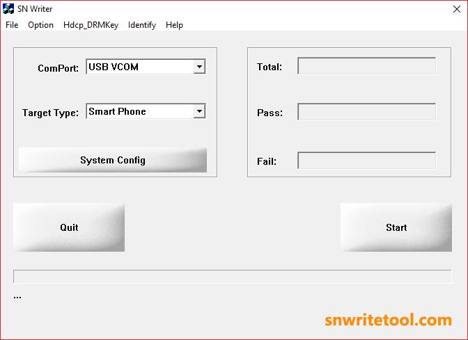 SN Write Tool v2.1416